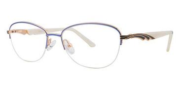 Blue/Pearl Avalon 5077 Eyeglasses.
