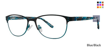 Blue/Black Vavoom 8095 Eyeglasses
