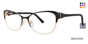 Black/Gold Avalon 5079 eyeglasses.