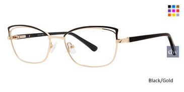 Black/Gold Avalon 5080 Eyeglasses.
