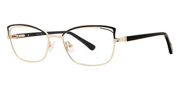 Black/Gold Avalon 5080 Eyeglasses.