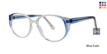 Blue Fade Parade 1596 Eyeglasses.