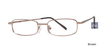 Brown Parade 1522 Eyeglasses - Teenager.