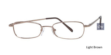 Light Brown Parade 1523 Eyeglasses - Teenager.