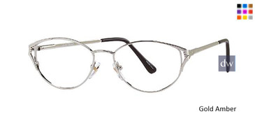 Gold Amber Parade 1476 Eyeglasses.