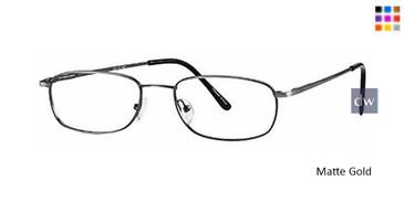 Matte Gold Parade 1498 Eyeglasses.
