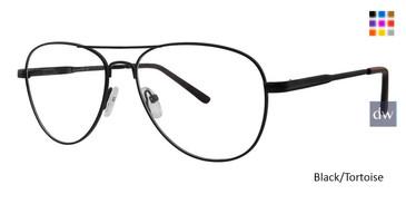 Black/Tortoise Vivid Metalflex 1038 Eyeglasses.