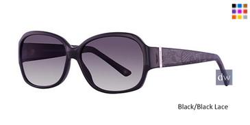 Black/Black Lace Parade Plus 2707 Sunglasses.