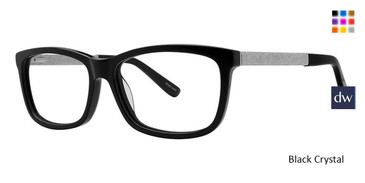 Black Crystal Vivid Boutique 4047 Eyeglasses.