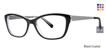 Black Crystal Vivid Boutique 4050 Eyeglasses.
