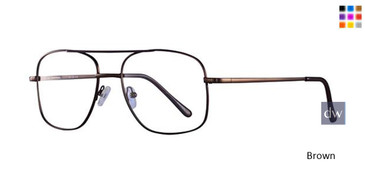 Brown Parade Q Series 1623 Eyeglasses.
