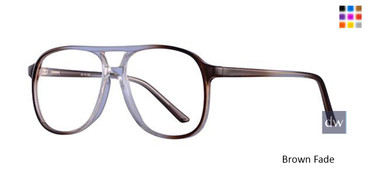 Brown Fade Parade Q Series 1745 Eyeglasses.