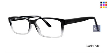Black Fade Parade Q Series 1748 Eyeglasses.
