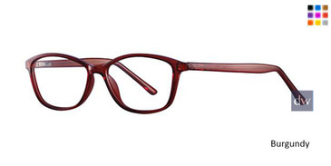 Burgundy Parade Q Series 1749 Eyeglasses.
