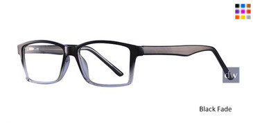 Black fade Parade Q Series 1752 Eyeglasses.