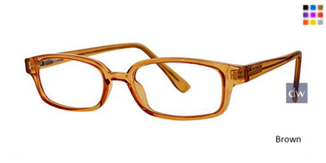 Brown Parade Q Series 1760 Eyeglasses.