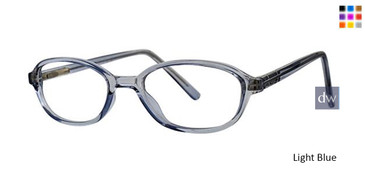 Light Blue Parade Q Series 1761 Eyeglasses.