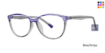 Blue/Stripe Parade Q Series 1770 Eyeglasses.