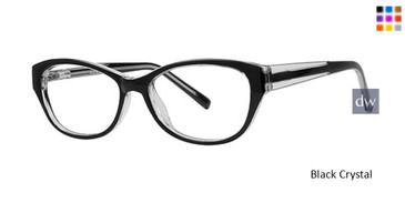 Black Crystal Parade Q Series 1772 Eyeglasses.