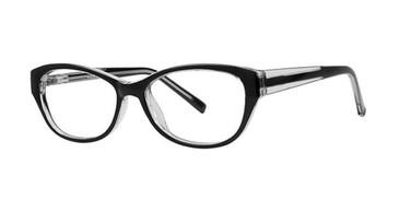 Black Crystal Parade Q Series 1772 Eyeglasses.