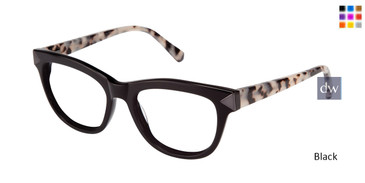 Black Kate Young For Tura K116 Eyeglasses - Teenager.