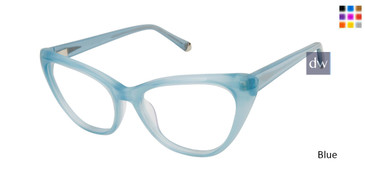 Blue Kate Young For Tura K139 Eyeglasses.