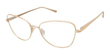 Gold Kate Young For Tura K140 Eyeglasses.