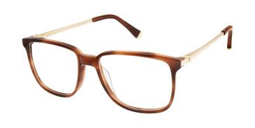 Tortoise Kate Young For Tura K142 Eyeglasses.