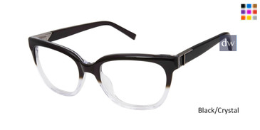 Black/Crystal Kate Young For Tura K325 Eyeglasses.