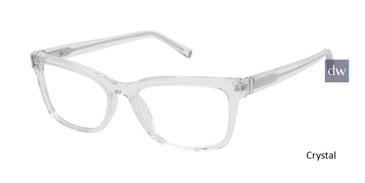Crystal Kate Young For Tura K329 Eyeglasses.