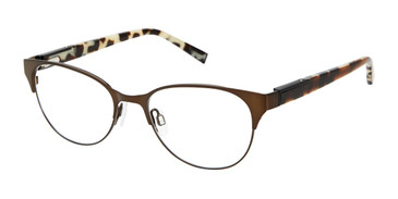 Olive Green Kate Young For Tura K330 Eyeglasses - Teenager.