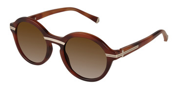 Tortoise Kate Young For Tura K522 Sunglasses.