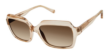 Brown Kate Young For Tura K549 Sunglasses.