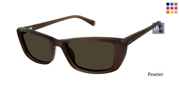 Pewter Kate Young For Tura K553 Sunglasses.