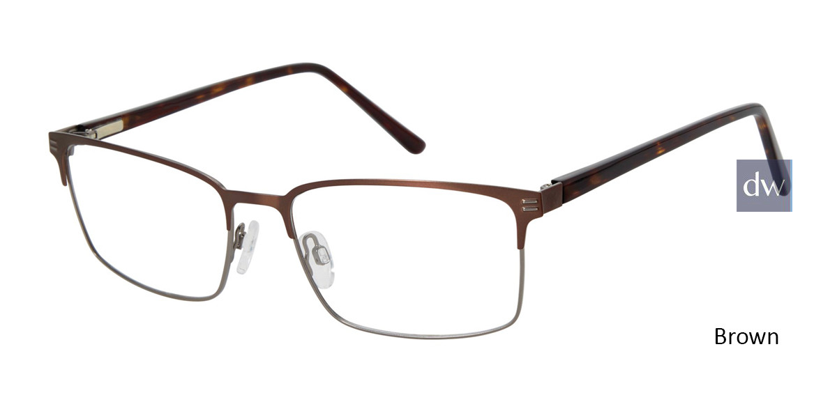 Brown Geoffrey Beene G449 Eyeglasses.