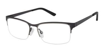 Dark Gunmetal Geoffrey Beene G450 Eyeglasses