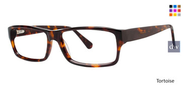 Tortoise Vivid Big And Tall 9 Eyeglasses.