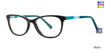 Black Elan 3037 Eyeglasses