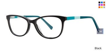 Black Elan 3037 Eyeglasses