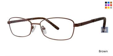 Brown Elan 3421 Eyeglasses