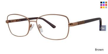 Brown Elan 3423 Eyeglasses