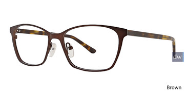 Brown Xoxo Ashbury Eyeglasses.