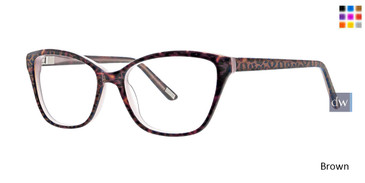 Brown Xoxo Marin Eyeglasses.