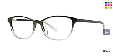 Black Xoxo Sutton Eyeglasses.