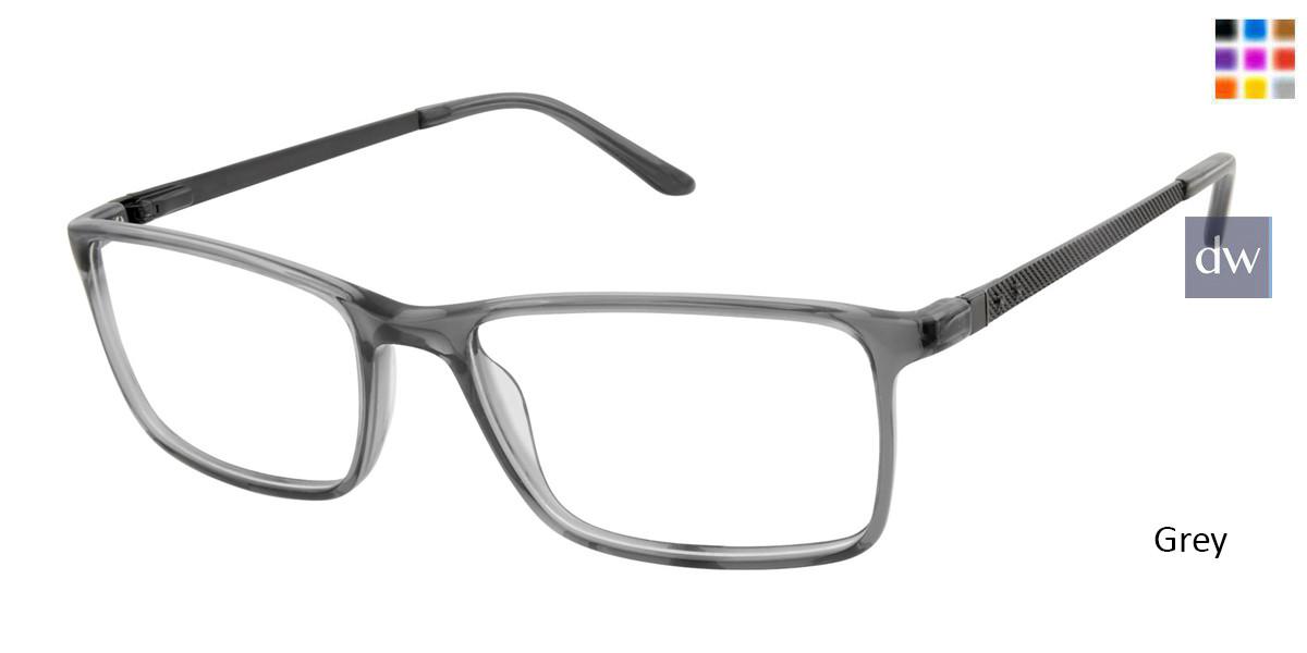 Grey Geoffrey Beene G527 Eyeglasses.