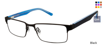 Black Geoffrey Beene Boys G904 Eyeglasses - Teenager