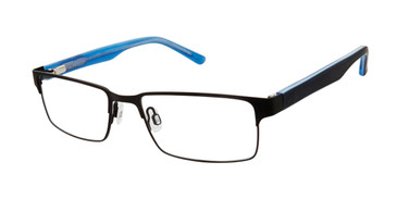 Black Geoffrey Beene G904 Eyeglasses - Teenager.