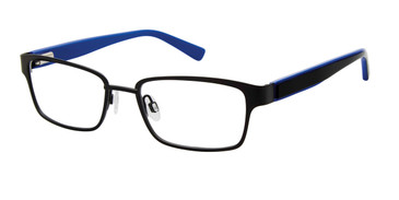 Black Geoffrey Beene Boys G901 Eyeglasses - Teenager.