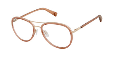 Brown Crystal Brendel 902262 Eyeglasses