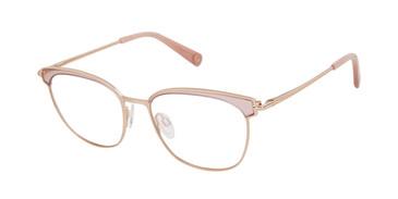 Rose Gold/Crystal Rose Brendel 902285 Eyeglasses